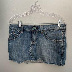 Roxy sz 11 Denim mini skirt